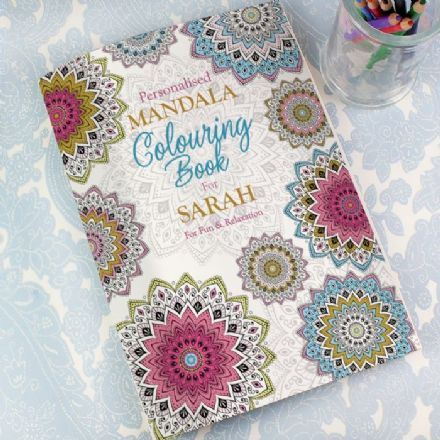 Personalised Mandala Adult Colouring Book